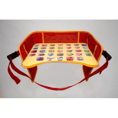 Детский столик для автокресла, красный