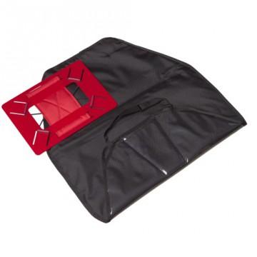 Защитные чехлы на сидение с держателем для планшета (черный)