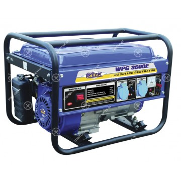 WPG 3600E Генератор бензиновый WERK
