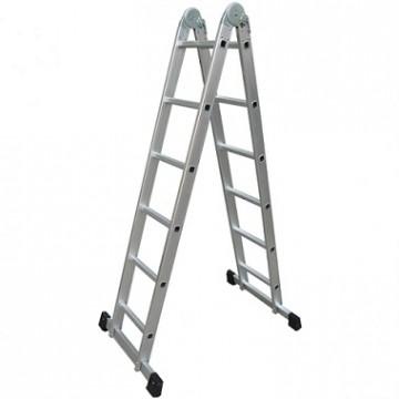 Практика шарнирная, 2x6 ступеней Лестница