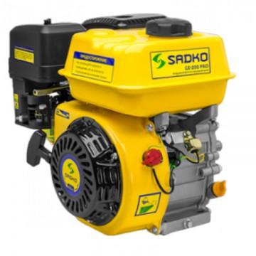 Sadko GE-200 PRO(шлицевой вал,фильтр в масляной ванне) Двигатель бензиновый