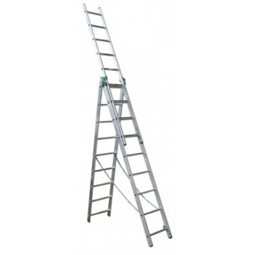 ITOSS 7609 Лестница 3-х секционная 3x9